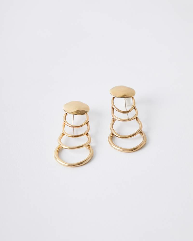 Ariana Boussard-Reifel AGUSTIN BRASS EARRINGS