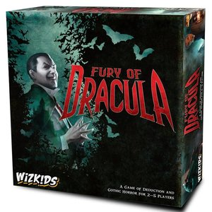 WizKids Fury of Dracula: 4th Edition