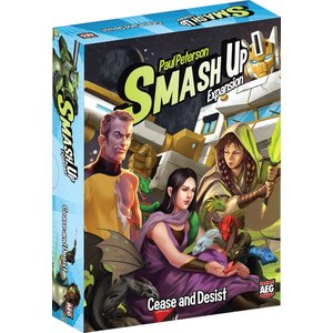 AEG Smash Up! Cease and Desist Expansion Pack