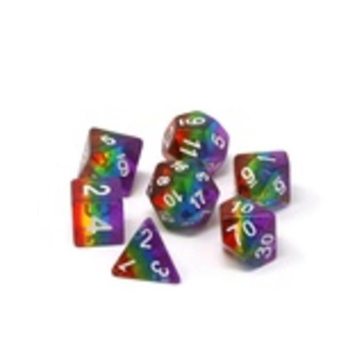 Die Hard Dice Die Hard Dice: 7-Set: Prismatic Rainbow