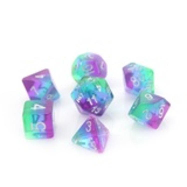 Die Hard Dice Die Hard Dice: Polyhedral Dice Set - Translucent Sunset