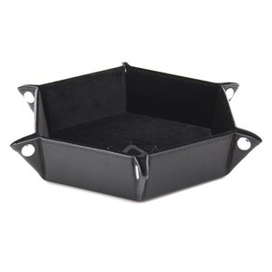 Die Hard Dice Die Hard Dice: Folding Hex Dice Tray - Black
