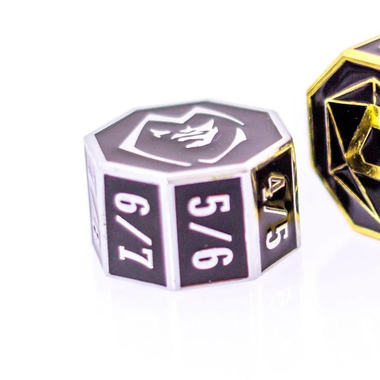 Die Hard Dice Die Hard Dice: Goyf Rox Counter - Silver w/ Black