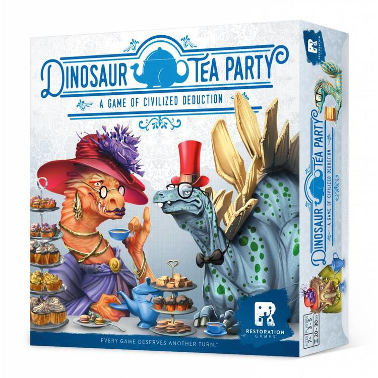 Restoration Games Dinosaur Tea Party