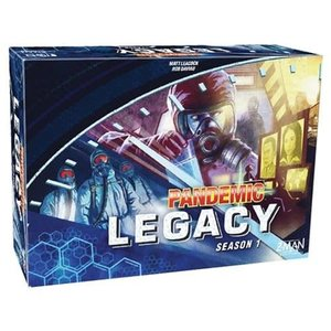 Asmodee Editions Pandemic: Legacy Season 1 - Blue (stand alone)
