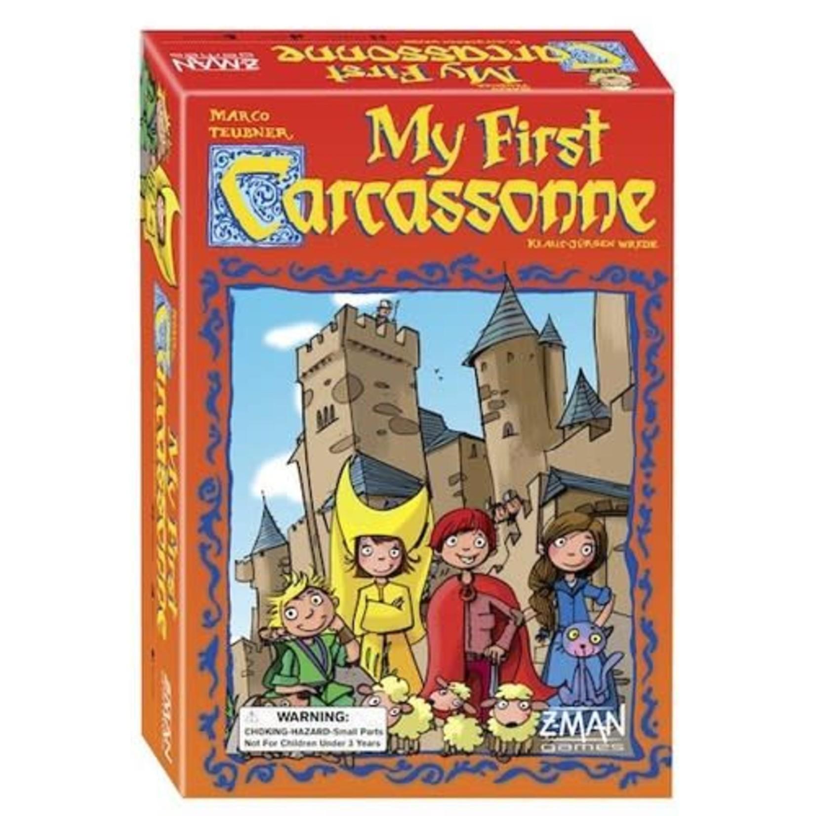 Z-Man Carcassonne: My First Carcassonne