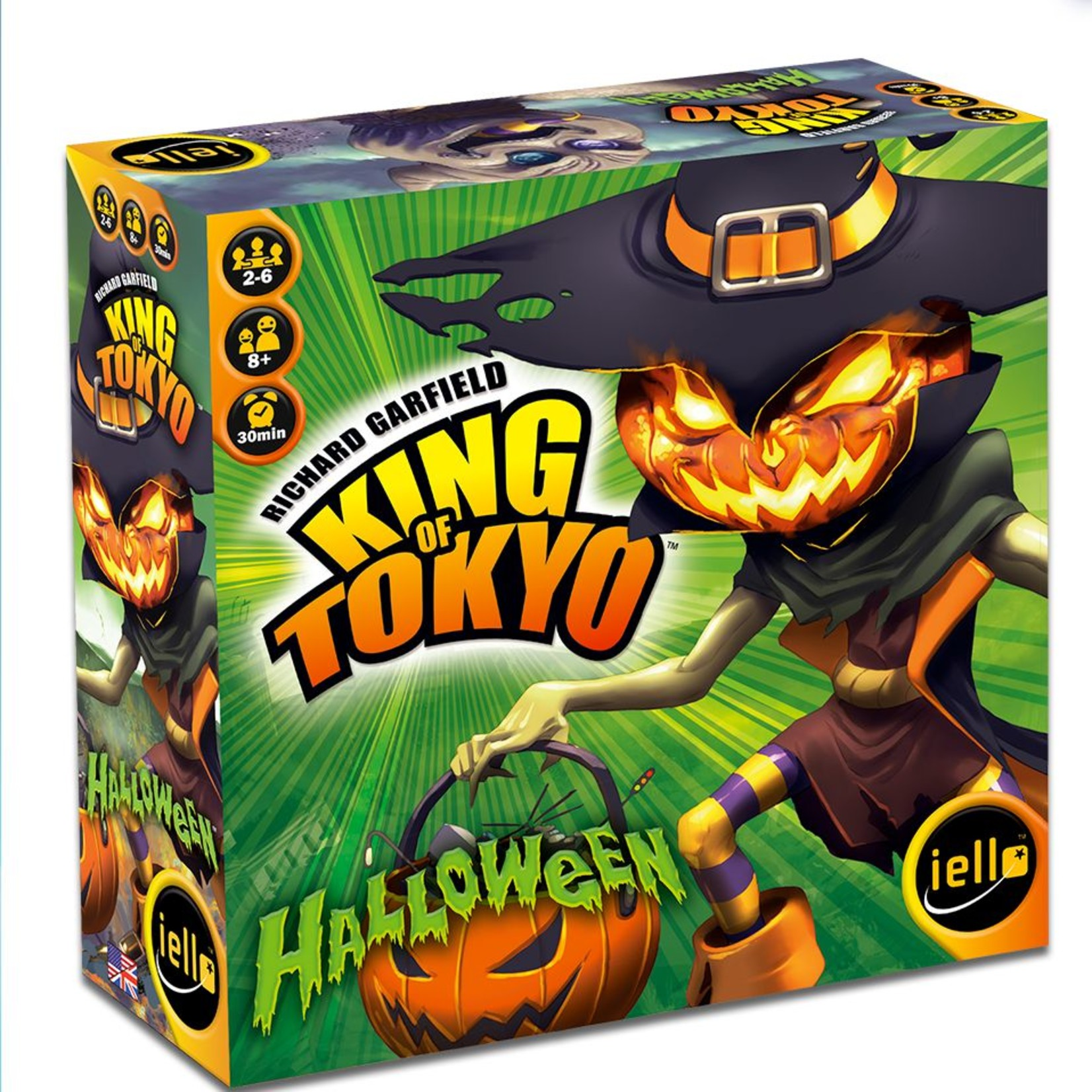 Iello King of Tokyo 2nd Edition: Halloween Expansion