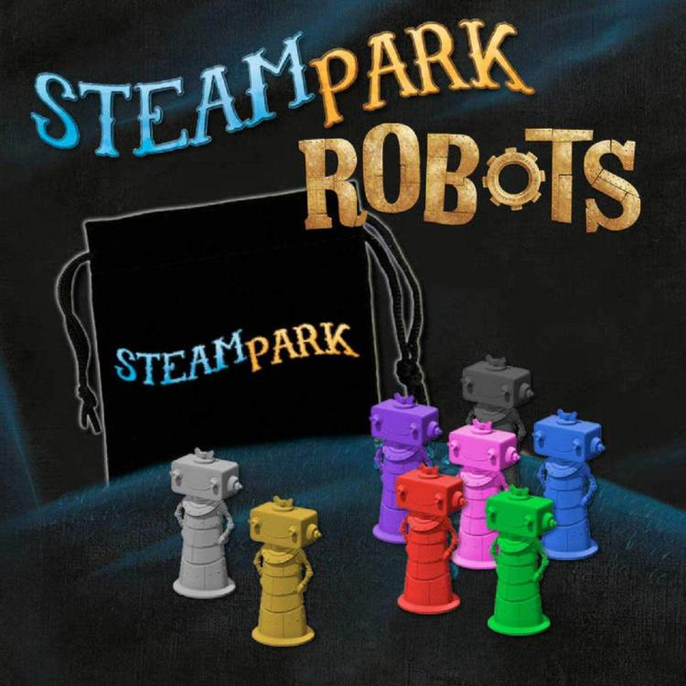Iello Steam Park: Robots