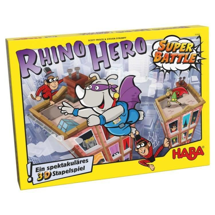 Haba Rhino Hero: Super Battle