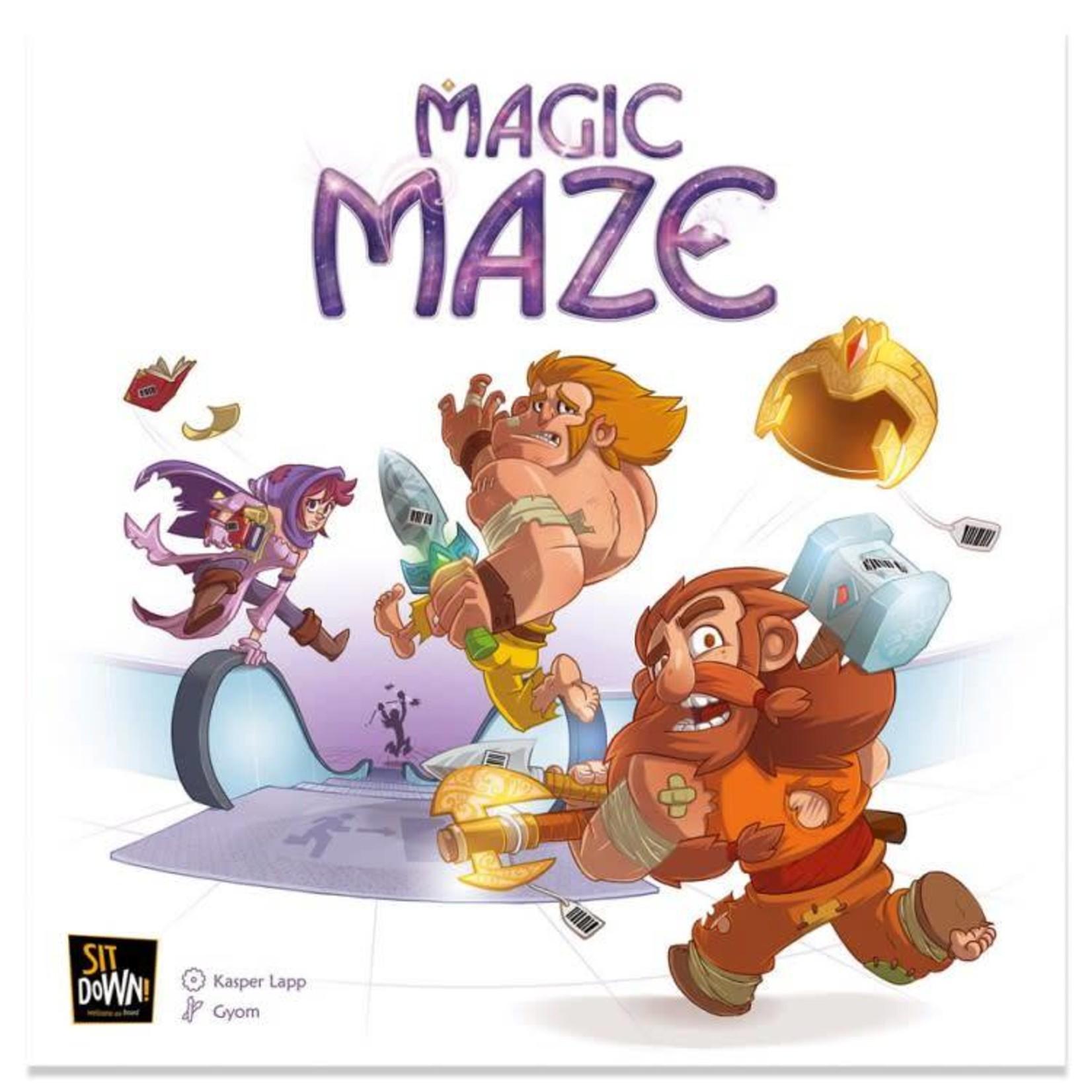 Dude Games Magic Maze