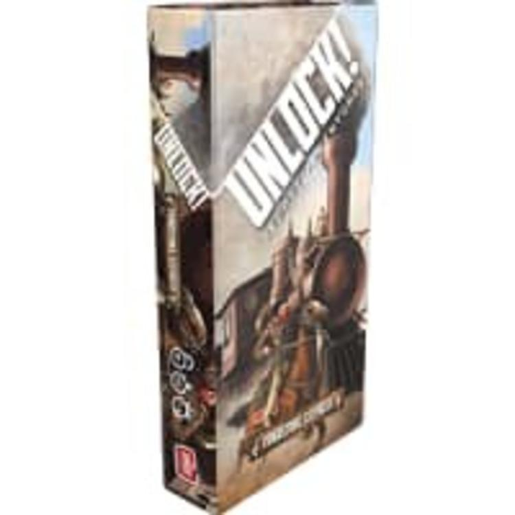 Asmodee Editions Unlock! Tombstone Express