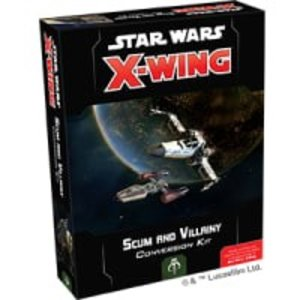 Fantasy Flight Games Star Wars X-Wing 2nd Edition: Scum and Villainy Conversion Kit