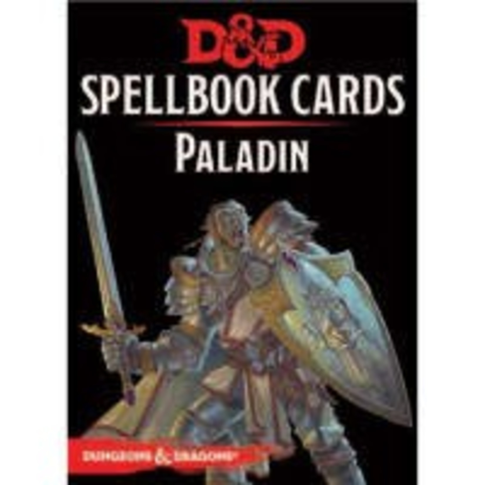 GaleForce9 Dungeons and Dragons 5th Edition: Spell Cards - Paladin