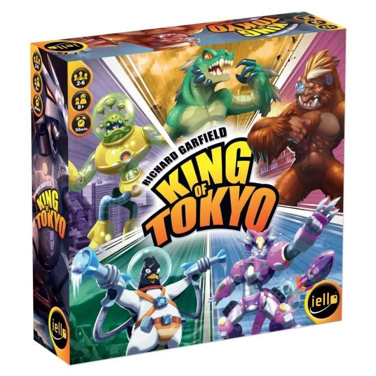 Iello King of Tokyo Second Edition