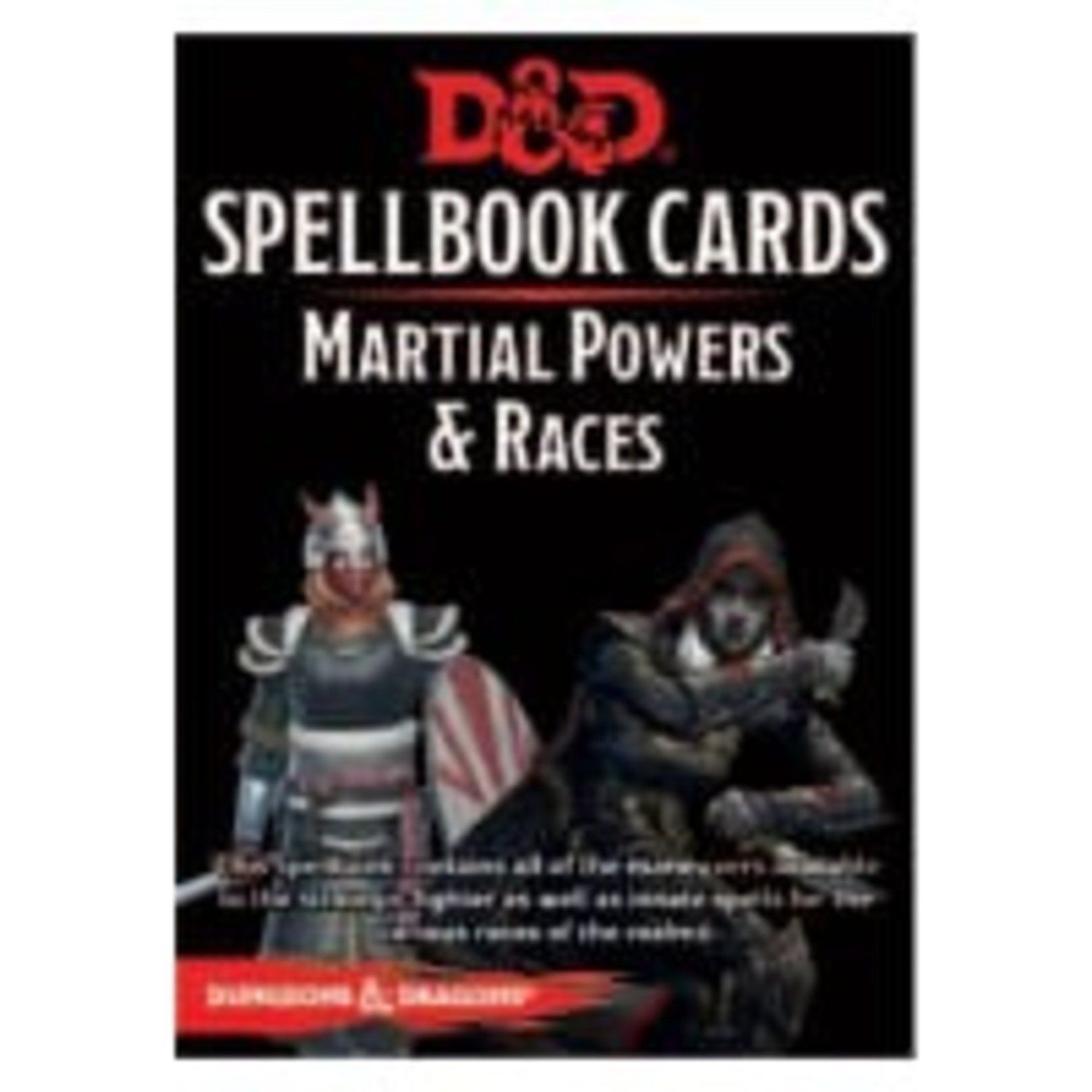 GaleForce9 Dungeons and Dragons 5th Edition: Spell Cards - Martial