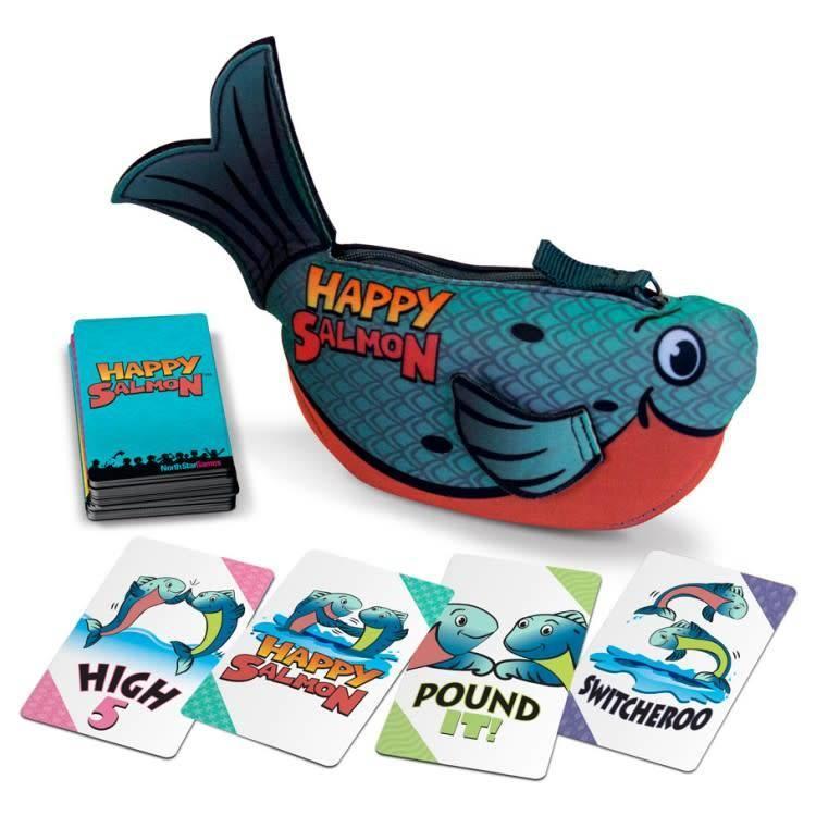 North Star Happy Salmon: Blue Fish