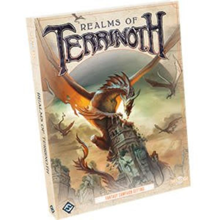 Fantasy Flight Games Genesys Roleplaying Game: Realms of Terrinoth Hardcover