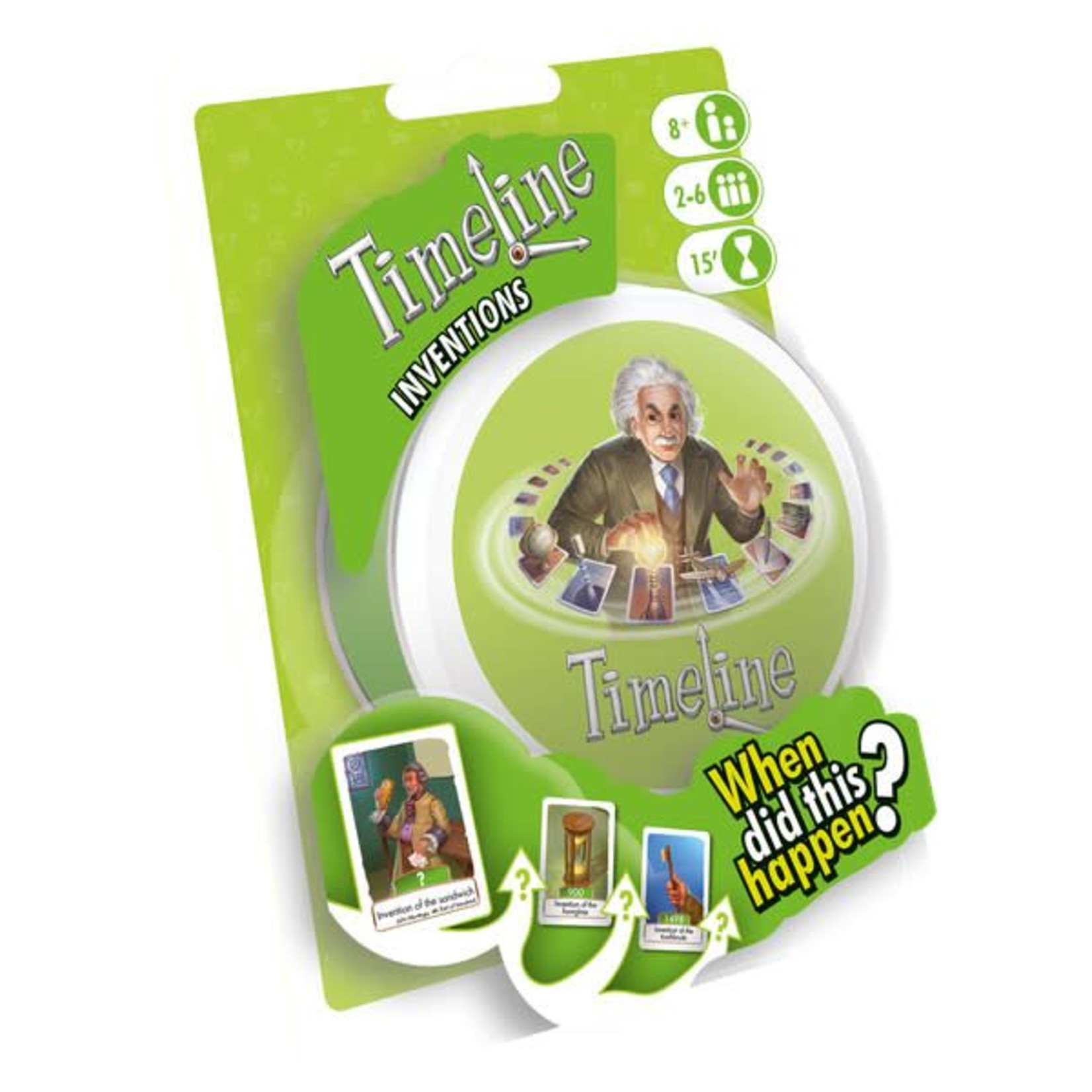 Asmodee Editions Timeline Inventions (New)
