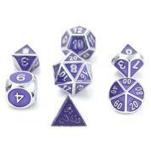 Die Hard Dice Die Hard Dice: 7-Set: Silver Amethyst