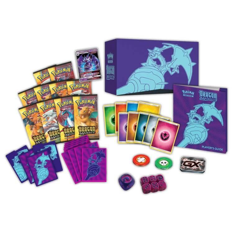Pokemon International Pokemon Trading Card Game: Dragon Majesty Elite Trainer Box