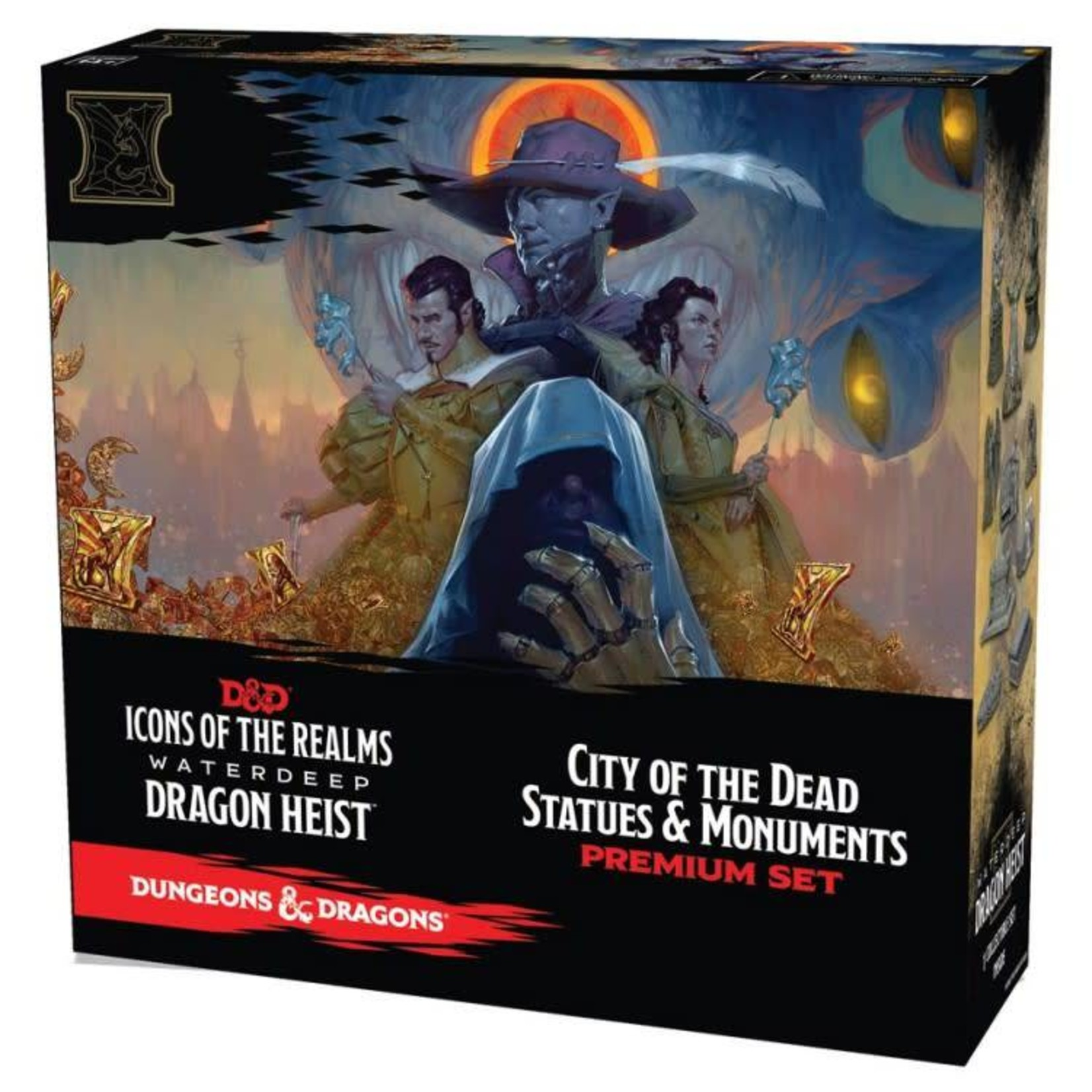 WizKids Dungeons and Dragons 5th Edition: Miniatures Waterdeep Dragon Heist - City of Dead