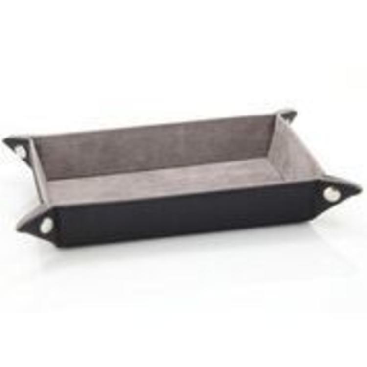 Die Hard Dice Die Hard Folding Rectangle Dice Tray: Gray