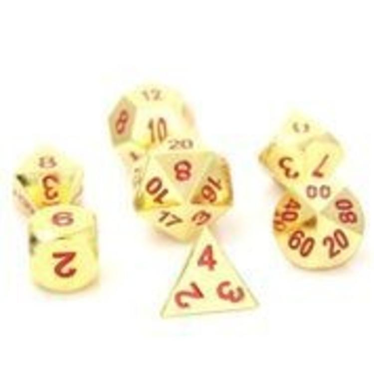 Die Hard Dice Die Hard Dice: 7-Set: Gold Ruby