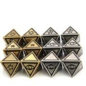 Die Hard Dice Star Wing Dice: Battleworn: 12-set