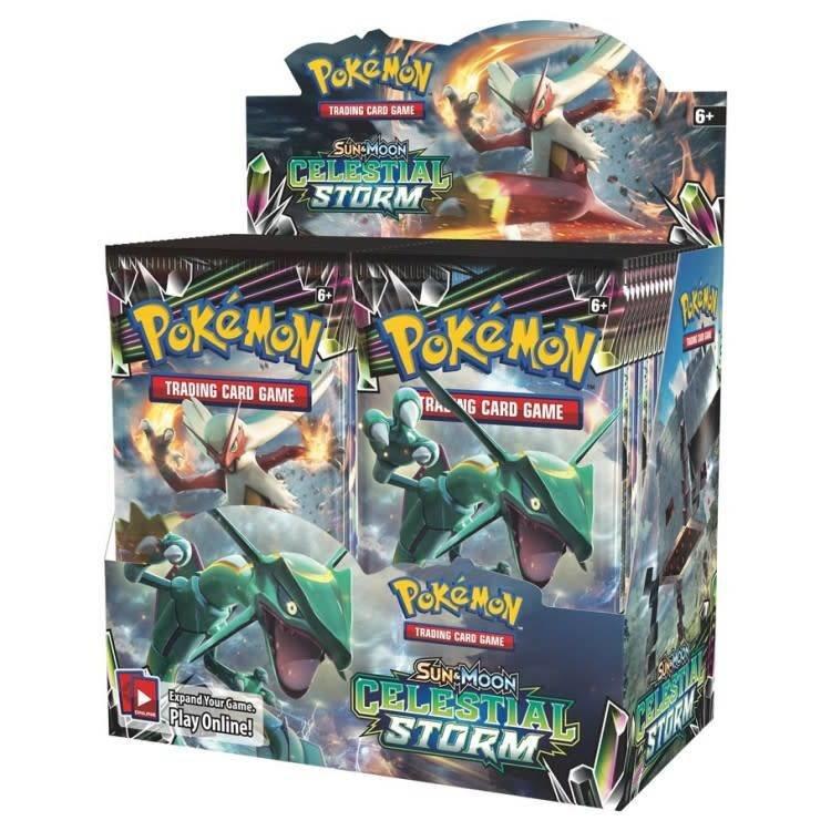 Pokemon International Pokemon - Celestial Storm Booster Box
