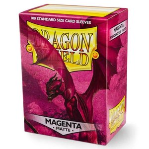 Arcane Tinman Dragon Shield: Card Sleeves - Matte Magenta (100)