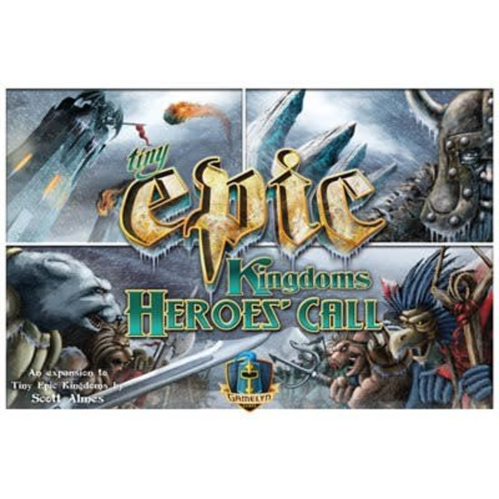 Gamelyn Games TINY EPIC KINGDOMS: HEROES CALL