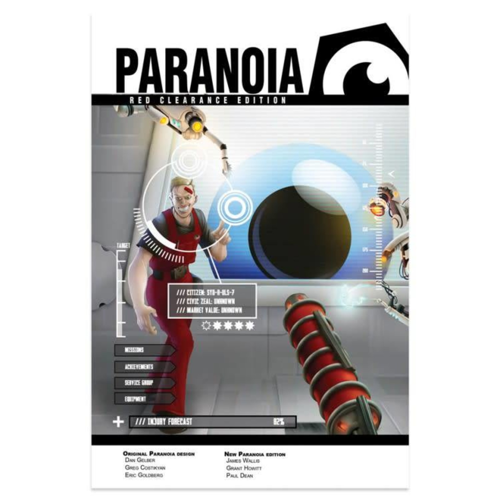 Mongoose Publishing Paranoia: Core Starter Set