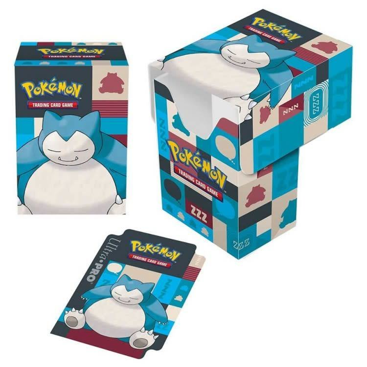 Ultra Pro Pokemon: Snorlax Full View Deck Box