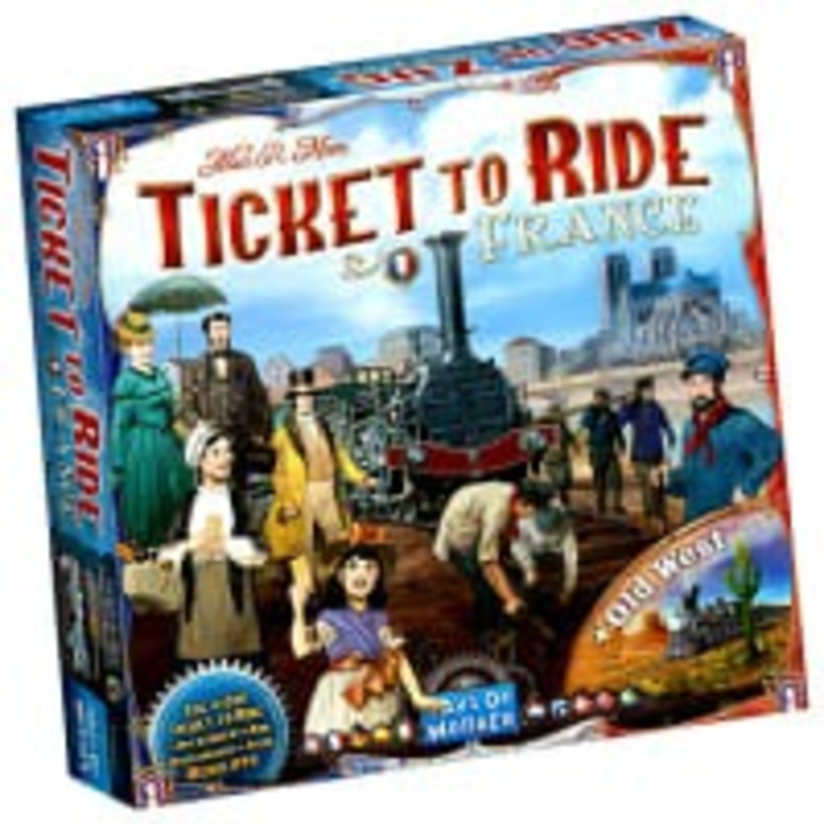 Days of Wonder Ticket To Ride: Map Collection V6 - France and Old West