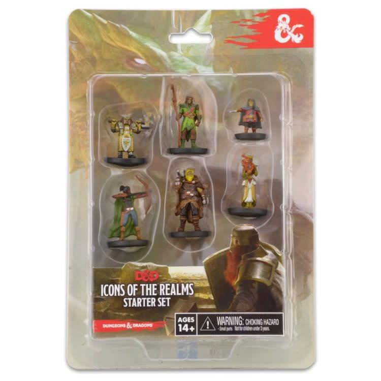 WizKids Dungeons and Dragons: Icons of the Realms Starter Set Miniatures