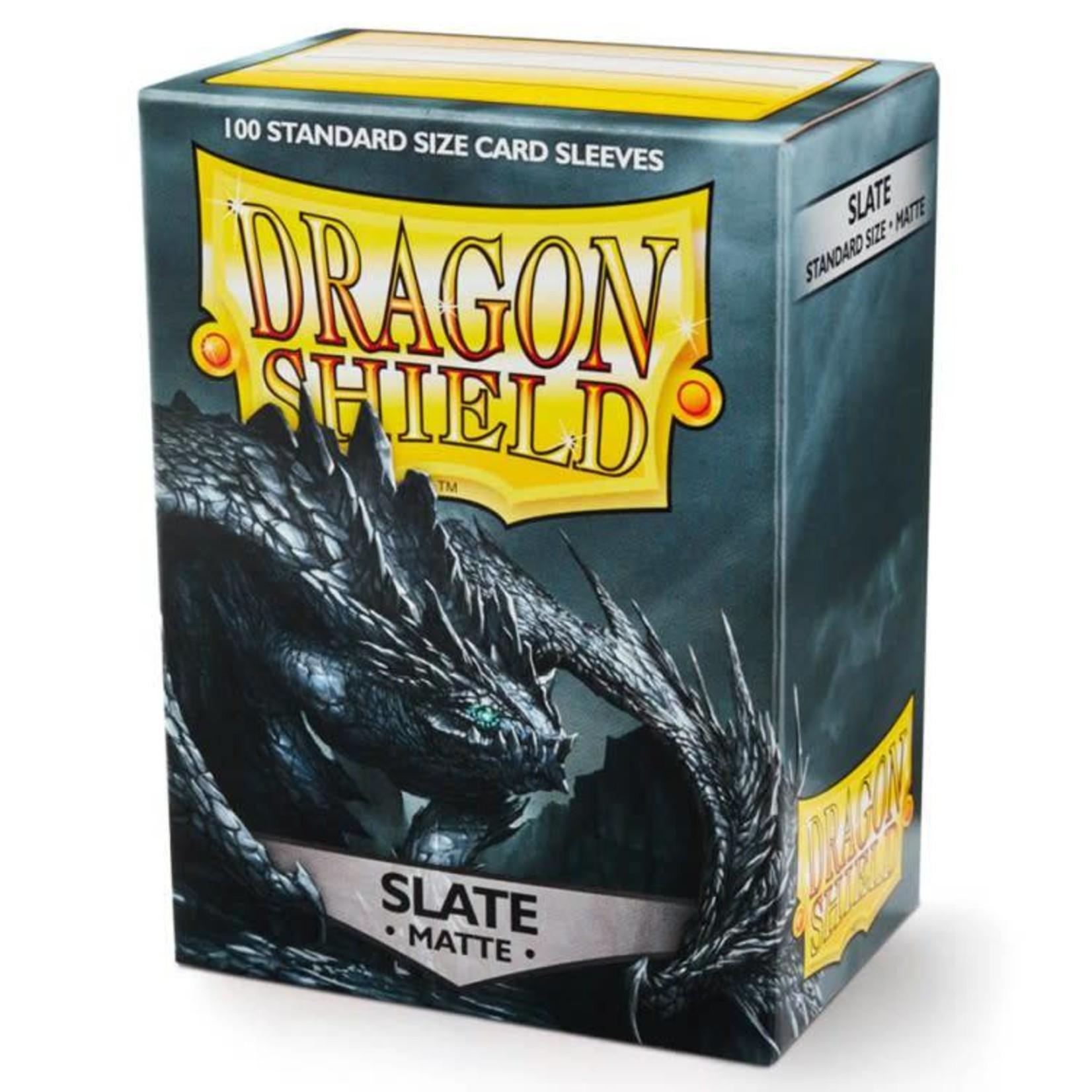 Arcane Tinman Dragon Shield: Card Sleeves - Matte Slate (100)