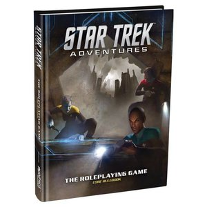 Modiphus Entertainment Star Trek Adventures Roleplaying Game - Core Rulebook