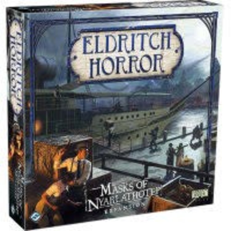 Fantasy Flight Games Eldritch Horror: Masks of Nyarlathotep Expansion