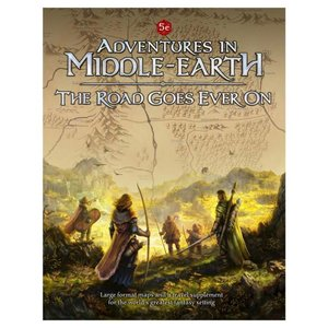 Cubicle 7 Adventures in Middle-Earth - The Road Goes Ever On (Dungeons and Dragons 5th Edition Compatible)