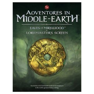 Cubicle 7 Adventures in Middle-Earth - LM Screen