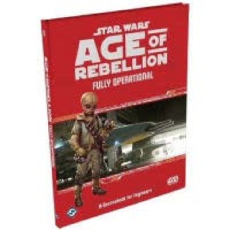 Fantasy Flight Games Star Wars RPG: Age of Rebellion - Fully Operational Hardcover