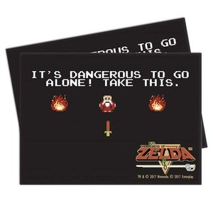 Ultra Pro Ultra Pro: Card Sleeves - Zelda Dangerous (65)