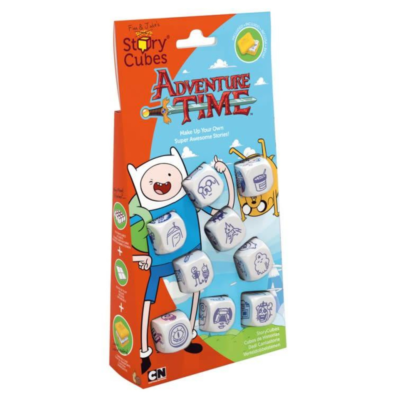 Rory's Story Cubes Rorys Story Cubes: Adventure Time