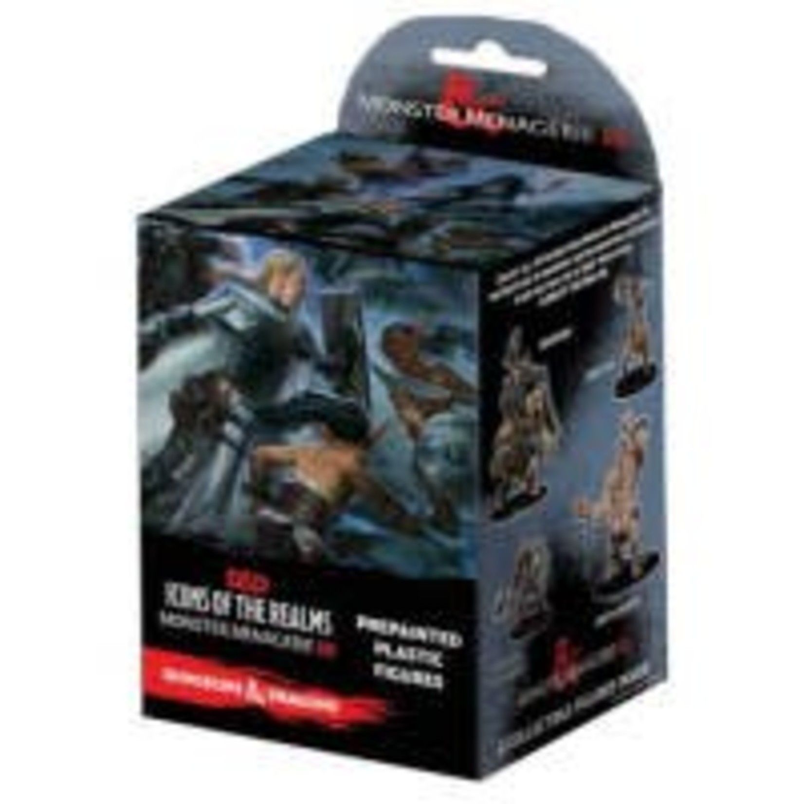 WizKids Dungeons and Dragons Prepainted Miniatures: Monster Menagerie 3 Booster Pack