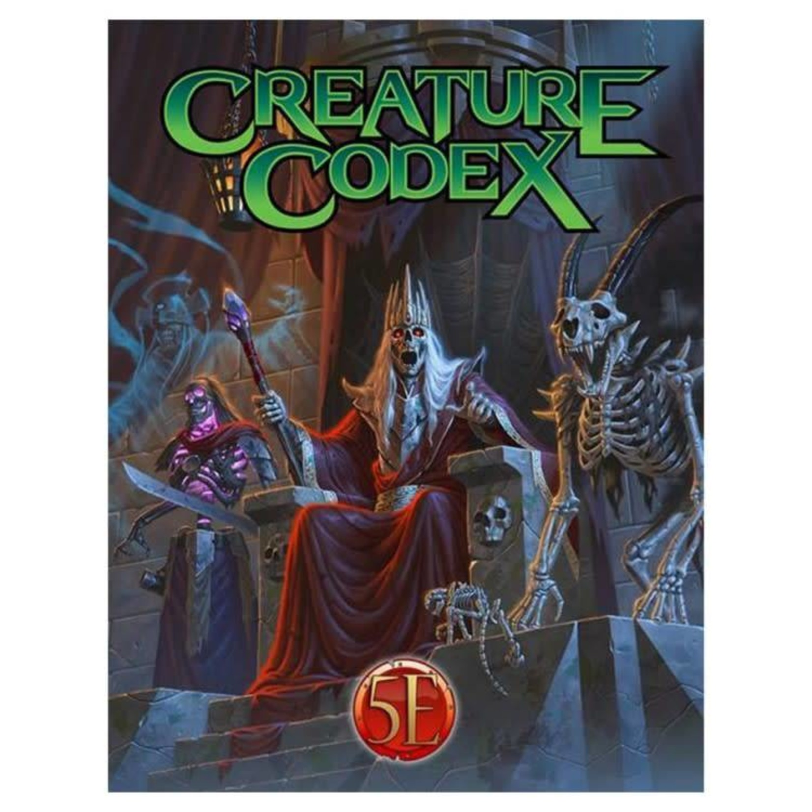Kobold Dungeons and Dragons RPG: Creature Codex Hardcover