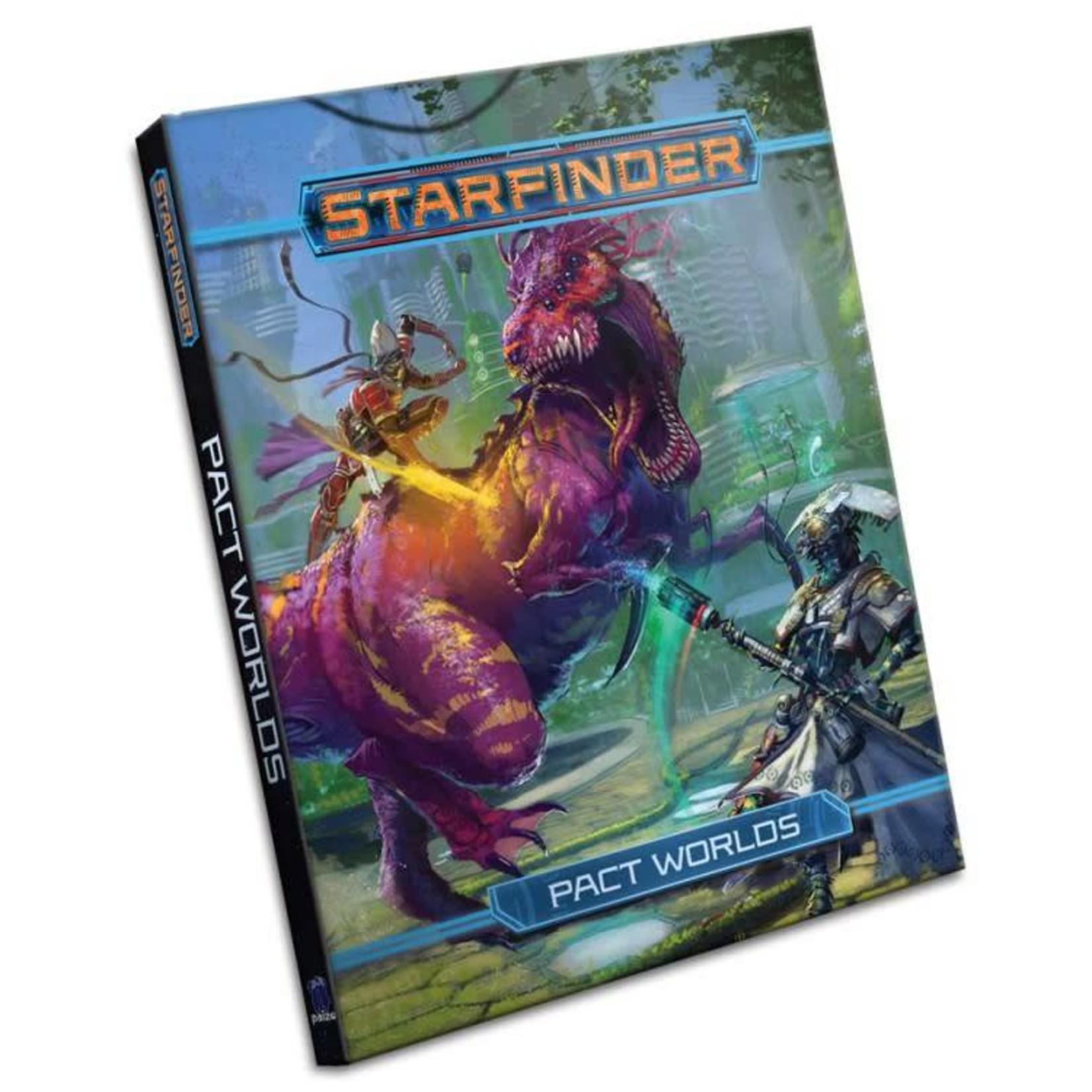 Paizo Starfinder RPG: Pact Worlds Hardcover