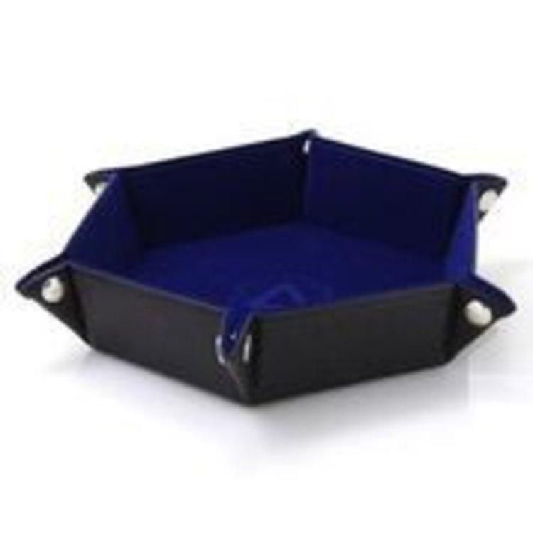 Die Hard Dice Die Hard Dice Folding Hex Dice Tray: Blue