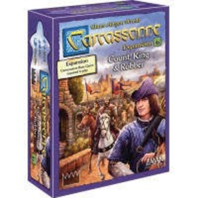 Z-Man Carcassonne: Count, King and May Expansion