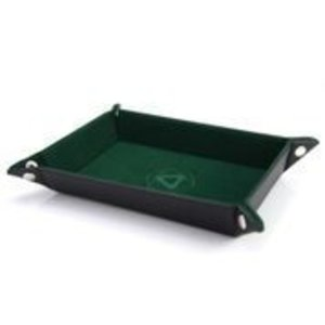 Die Hard Dice Die Hard Folding Rectangle Dice Tray: Green