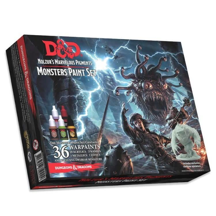 GaleForce9 Paint Set: D&D 5th Ed - The Monsters Paint Set